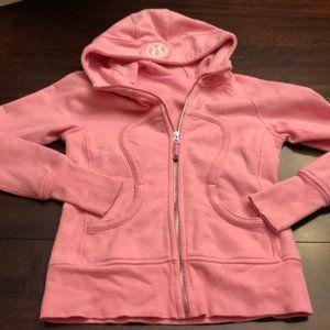 PRICE FIRM **** Super cute scuba hoodie. Size 4.
